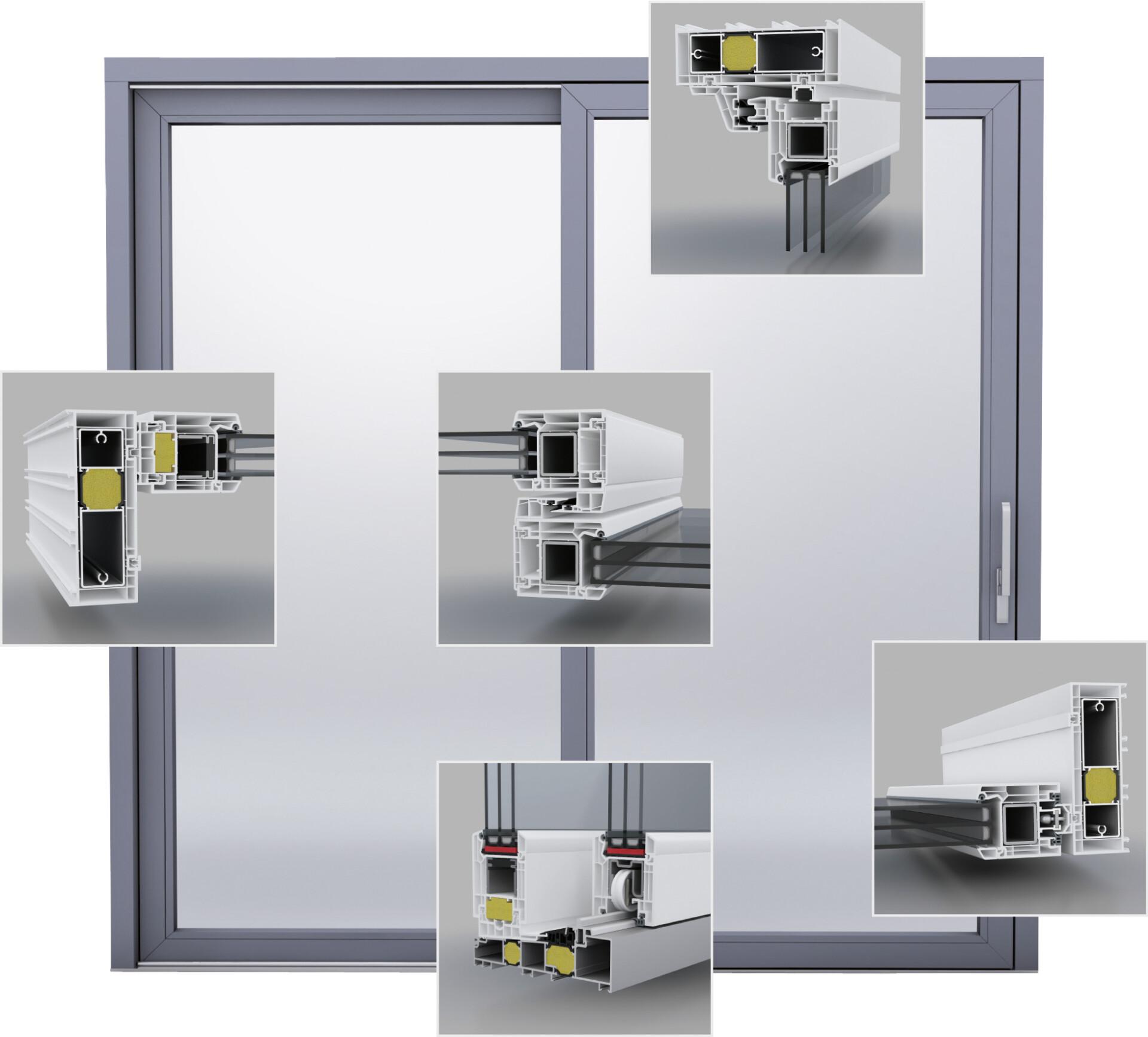 QuinLine_74_Tür mit 3D-Schnitten
